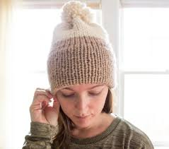 Knit Beanie Pattern Stunning DoubleKnit Brim Slouchy Beanie Pattern Simply Maggie