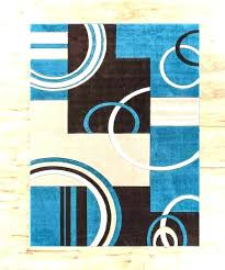 turquoise and brown area rug blue rugs contemporary grey chocolate tu