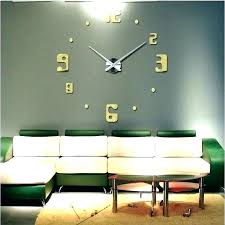 large clocks for living room decorative wall clocks large gold clock big living room for