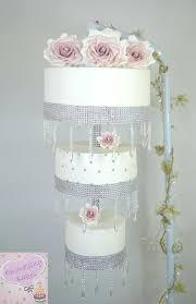 wedding cake chandelier crystal chandelier wedding cake stand