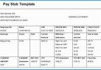Payroll Check Stub Template Free Luxury Gallery Of Payroll Check Template Free Form Template Design