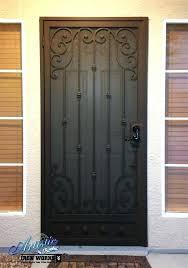 front door gate. Wrought Iron Entry Gates Front Door Gate