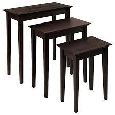 shaker style end table narrow nesting end tables shaker style furniture narrow nesting tables shaker style shaker style end table