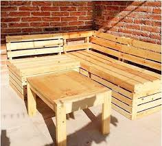furniture making ideas. Pallet-dining-table-and-banch. Making Furniture Ideas