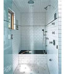 Bathroom Ideas Grey Subway Tile Bathroom With Small Window And