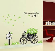 Decorative Basket Wall Art Online Get Cheap Bicycle Wall Aliexpresscom Alibaba Group