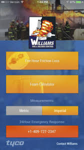 Fire Department Friction Loss Chart Home Williams Fire Hazard Control