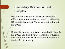 Apa Workshop In Text Citations References Ppt Download