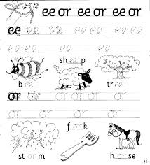 These five skills form the foundation that children build on with. Jolly Phonics Workbook 4 Ai J Oa Ie Ee Or