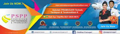 Check spelling or type a new query. Sekolah Pramugari Dan Staff Penerbangan Terakreditasi A Pspp