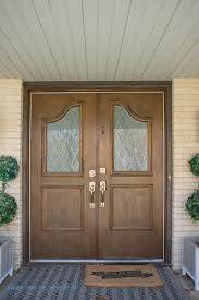 replace glass in front door to get a brand new look