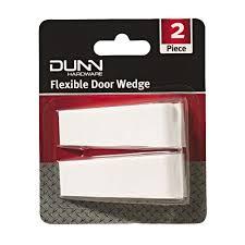 Dunn Flexible Door Wedges White 2 Pack