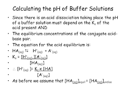 Describe What Is Meant By A Buffer Solution Ppt Download