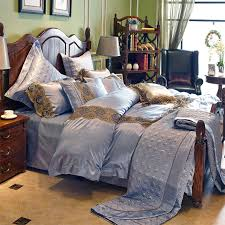 get ations love welcomes european and american style villa home textile bedding cotton solid color silk silk textile