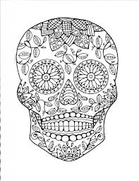 Small Picture Get This Sugar Skull Coloring Pages Free Printable for Grown Ups