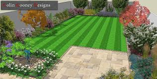 Small Picture Dublin Garden Design Drawings for Landscape Contractor Colin