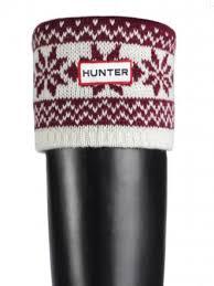 Hunter Welly Socks Size Chart Hunter Fair Isle Cuff Welly Socks Red Hunter Boots Size