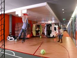 fantastic google office. google they like their employees to be fit and healthy fantastic office a