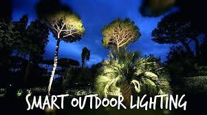 smart outdoor lighting. Exciting Smart Landscape Lighting Smartphone Outdoor