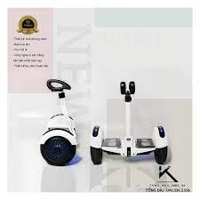 Xe điện cân bằng, Xe điện 2 bánh, Kích thước 10 inch, Bluetooth - Điều  khiển bằng điện thoại,Tải trọng tới 120kg