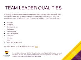 Qualities Of A Good Team Leader What Makes A Great Team Leader Major Magdalene Project Org
