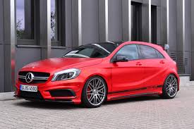 Mercedes-Benz A45 AMG Gets Wrapped in Wonderful Red Matte Foil, Is ...