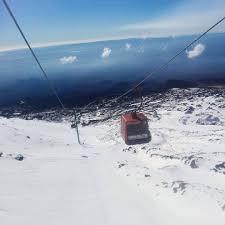 In Sicilia piste da sci aperte