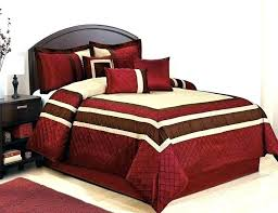 burdy comforter queen maroon sets bed and red set solid comf