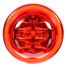 Pc Rated Light 10 Series High Profile Led Red Round 8 Diode Marker
