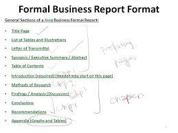 Formal Incident Report Template A Format Of Suitable Doc Business