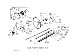 55 Chevy Steering Column   The H.A.M.B.