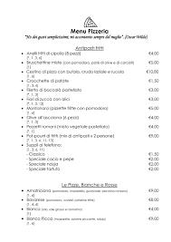 Menù - La Ciociara dal 1969 - Ristorante, Pizzeria a Roma - TheFork