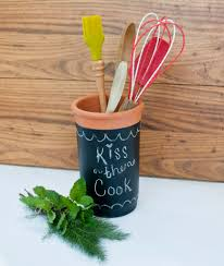 Craft For Kitchen Chalkboard Crafts Clumsy Crafter