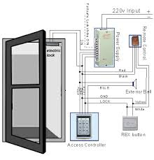 door access control system wiring diagram images door access single door access controller buy access control system door access
