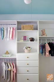 Closet Organization Ideas for a Nursery