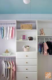 closet organization ideas for a nursery