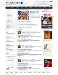 Website Template Newspaper News Portal Website Template 24290