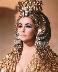 jezebel this image from the film cleopatra shows elizabeth taylor in the headdress weeeeeeee make up