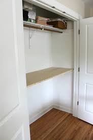 diy closet into office fresh remodelaholic