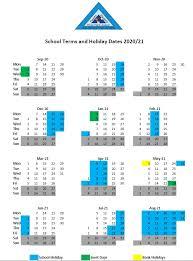 eton park junior term dates