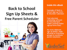 back to school sign up forms make your own sign up sheets fast back to school sign up sheets cover