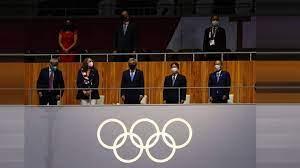 الألعاب الأولمبية الصيفية 2020.. أبرز صور الافتتاح بطوكيو