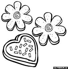 Small Picture Sugar Cookies Coloring Page Free Sugar Cookies Online Coloring