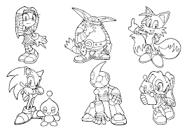 Sonic Coloring Pages 5 Coloring Kids