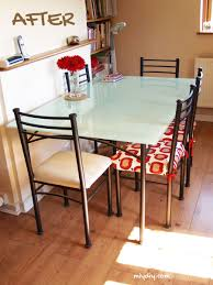 Painting a Glass Table Top | Glass table, Glass and Glass table top