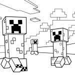 Minecraft Coloring Pages Minecraft Coloring Pages Creepers Pdf