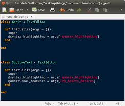 Setting Sublime Text 3 as Default Editor, Ubuntu – Alexa Anderson ...