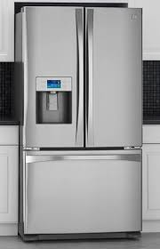 kenmore elite fridge white. the 2010 kenmore refrigerators feature smooth styling and a large capacity. elite fridge white r