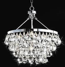 indoor 5 light luxury crystal chandelier