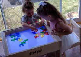 Educational Play Light Table Our Art Light Table Is Ideal For Educational Activities For